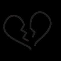 broken-heart Coloring Page