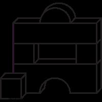 Bausteine Färbung Seite
