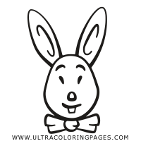 easter-rabbit Coloring Page