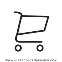 shopping-cart Coloring Page