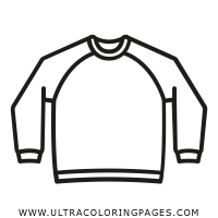 sweatshirt Coloring Page